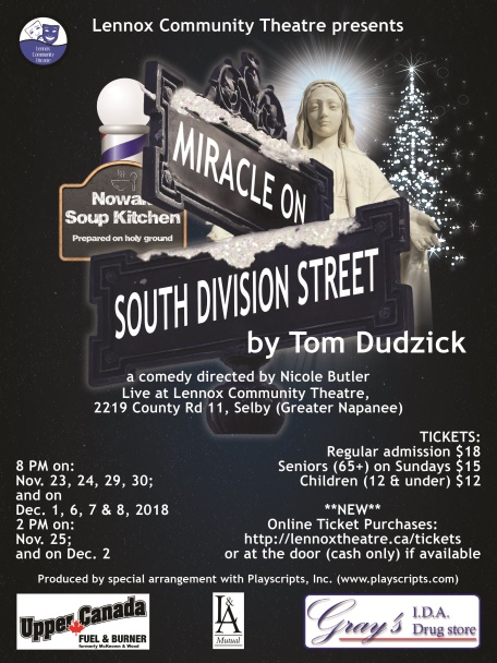 Miracle On South Division Street poster
